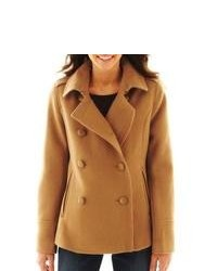 Calvin Klein Double Breasted Belted Pea Coat | Where to buy & how ...