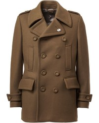 Wooster Lardini Double Breasted Peacoat