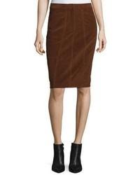Derek Lam Corduroy Pencil Skirt Vicuna