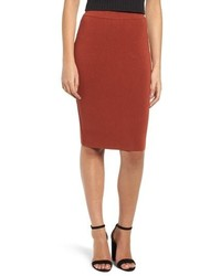 Leith High Waist Body Con Skirt