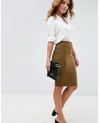 Asos High Waisted Pencil Skirt