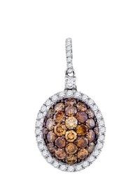 SEA Of Diamonds 130ct Dia Brown Diamond Fashion Pendant