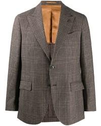 Gabriele Pasini Checked Single Breasted Blazer