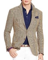 feede9995f74 ... Polo Ralph Lauren Plaid Silk Slim Fit Sport Coat
