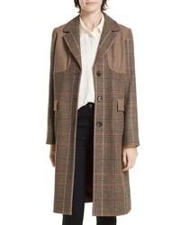 Helene Berman Mix Check Coat