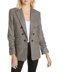 Veronica Beard Beacon Check Dickey Jacket