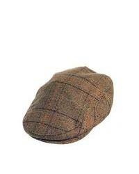 Failsworth Hats Waterproof Flat Cap Light Brown