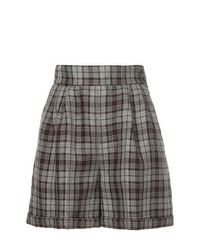CITYSHOP Plaid Shorts