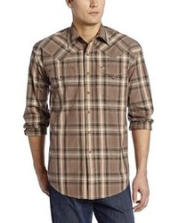 Stetson Clay Plaid Snap Front Shirt