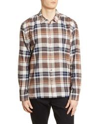 BLDWN Harrison Slim Fit Plaid Button Up Shirt