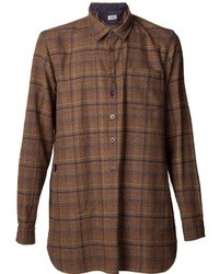 Undercover Plaid Pattern Shirt
