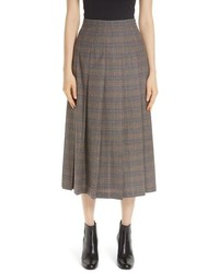 Lafayette 148 New York Marya Plaid Skirt