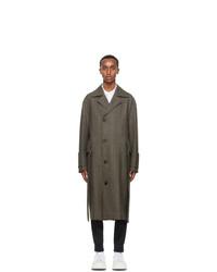 Wooyoungmi Brown Wool Long Coat