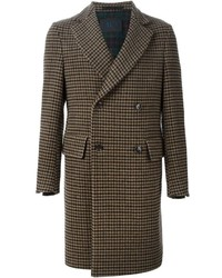 Mp massimo piombo tweed coat medium 422337