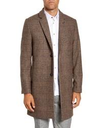 Ted Baker London Rhyl Heritage Check Overcoat