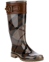 House check rain boots medium 146599