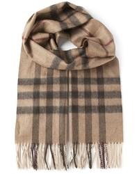 London house check scarf medium 124159