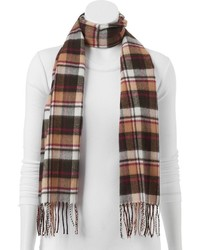 Softer than cashmere plaid oblong scarf medium 379648
