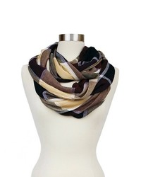 Sylvia Alexander Infinity Fashion Plaid Scarf