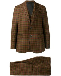 Gabriele Pasini Tartan Three Piece Suit