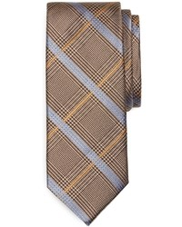 Glen plaid with overcheck tie medium 19970