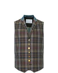 Kolor Double Design Waistcoat