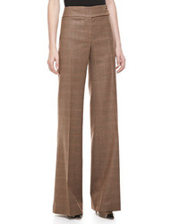 Michael Kors Manchester Plaid Wool Pants Michl Kors