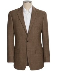 Ralph Lauren Modelcurrentbrandname Lauren By Windowpane Plaid Sport Coat Wool