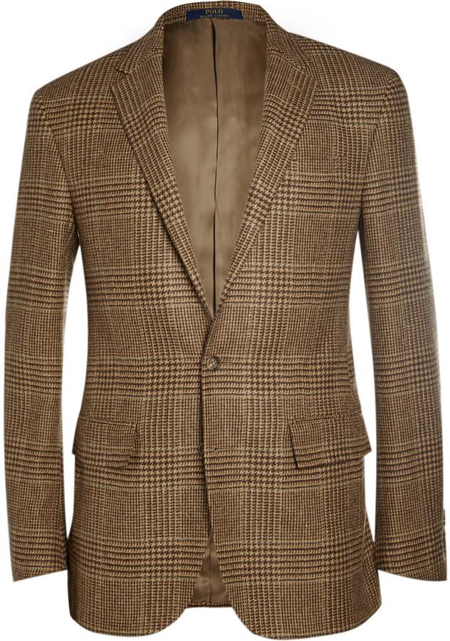 b72a65ad0a48 Polo Ralph Lauren Slim Fit Check Wool And Alpaca Blend Blazer, $895 ...