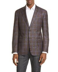 Emporio Armani Trim Fit Wool Sport Coat