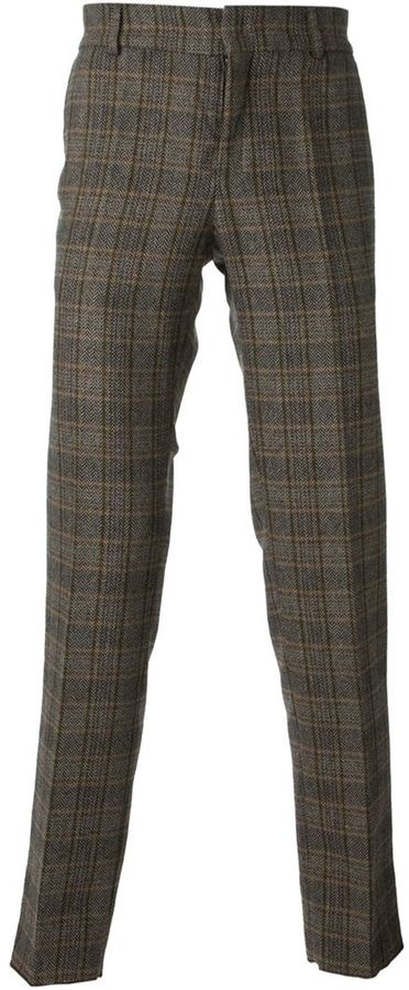 Stella Jean Checked Trousers