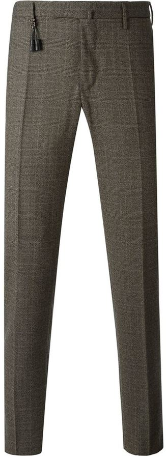 Incotex Checked Tailored Trousers