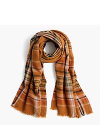 Wool scarf in plaid medium 966308