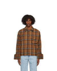 Ader Error Brown Wool Ard Jacket