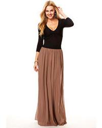 Alloy faith pleated maxi skirt medium 76243