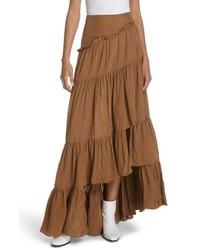 3.1 Phillip Lim Tiered Ruffle Maxi Skirt