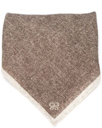 Tonal stripe pocket square medium 331307