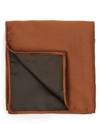 Topman Toffee Brown Pocket Square