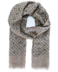 Dolce gabbana skull cross bone print scarf medium 404834