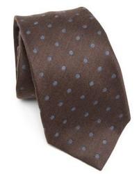 Kiton Dotted Texture Tie