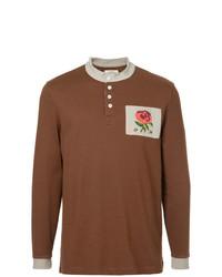 Kent & Curwen Long Sleeve Logo Polo Top