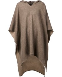 Brown poncho original 10213488