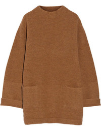 Acne Studios Dames Oversized Boiled Wool Poncho