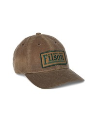 Filson Low Profile Logo Patch Baseball Hat