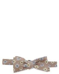 Drakes Drakes Printed Silk Bow Tie