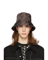 Fendi Brown Karligraphy Bucket Hat