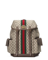 Gucci Ophidia Medium Gg Supreme Canvas Backpack