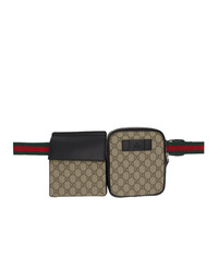 Gucci Beige Gg Supreme Belt Bag