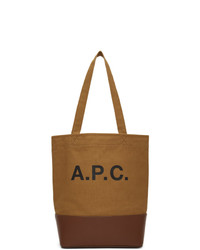 A.P.C. Brown Axelle Tote