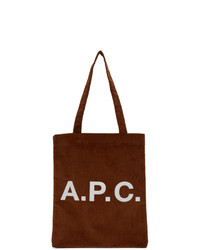 A.P.C. Orange Lou Tote